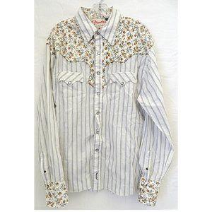 Fender Custom Western Outlaw 100% Cotton Shirt XL